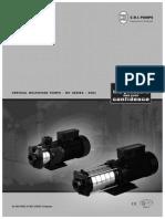 Horizontal Inline Booster Pumps -60HZ