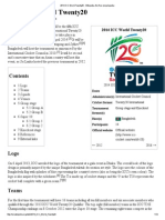 2014 ICC World Twenty20 - Wikipedia, The Free Encyclopedia