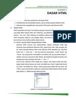 Jobsheet Pemrograman Web 1