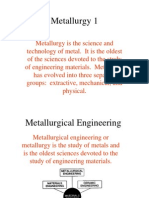 Metallurgy 1-Mr. Robinson