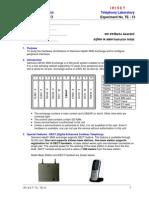 Siemens Exchange Lab Sheet - 1 No.