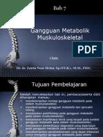 BAB 7 Gangguan Metabolik Muskuloskeletal