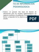 Fuentes de Informacion Epidemiologica