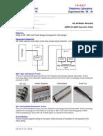 MDF & Power Supply Lab Sheet - 1 No.