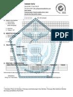 Formulir Pendaftaran SMK PELAYARAN TAYU