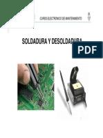 Tipos Soldadura y Desoldadura Electronica