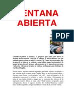 Ventana Abierta 22.03.2014