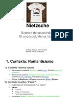 Nietzsche. Selectividad