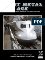 Aluminum Applications in the Rail Industry