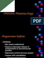 OB PharmacologyNSC