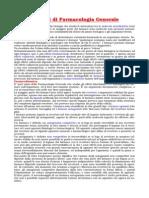 Farmacologia Principi Di Farmacologia Generale