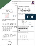 Tenambit PS Maths Key Ideas Ass ES1 T1