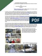 Sustainability Project Progress Report (Azimi Azmin 815726)