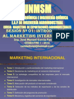 2014 - I INTRODUCCION AL MARKETING INTERNACIONAL