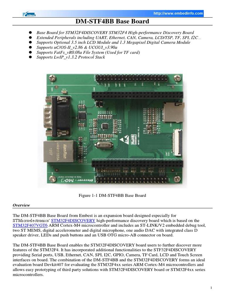 DM-STF4BB   Usb   Microcontroller