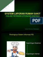Hospital Report System
