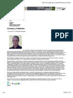 Crimea y Cataluña | Fundación Civil