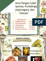 (PPT) KELOMPOK 1-CILACAP, PURBALINGGA,BANYUMAS, BANJARNEGARA-THP A 2012