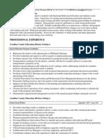 wendy ahern - resume 1