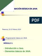 Programación básica en JAVA