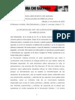 La Incluencia Del Che en America Latina