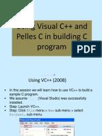 How to use Visual c Plus Pelles c