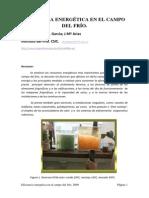 EFICIENCIA ENERGÉTICA EN EL CAMPO DEL FRIO