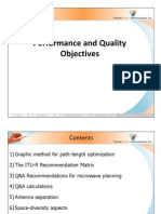 5. Performance and Quality Objectives