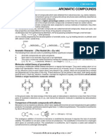 Aromatic Compound Theory E