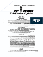 Land Acquisition and R&R Act 2013