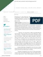 Carnegie Mellon University in Qatar _ Professor Leila Ahmed, Ph.D.pdf