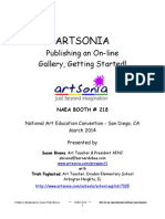 Artsonia - Getting Started 2014