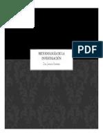 2. Metodologia de Investigacion - Dra. Jessica Guevara