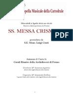 Messa Crismale