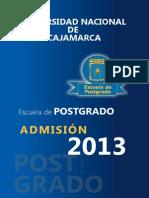 Prospecto 2013- Maestria Unc