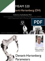 Robotics 06 Dh