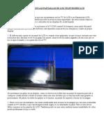 Problemas Con Las Pantallas de Los Televisores LCD