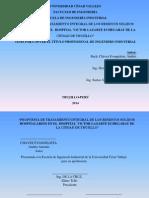 Informe de Desarrollo de Tesis