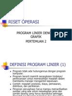 2 Program Linier Grafik