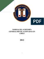 Normas de Auditoría Generalmente Aceptadas en Chile (NAGA63)[2]