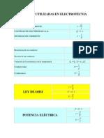 FÓRMULAS+UTILIZADAS+EN+ELECTROTECNIA