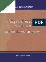L'expression écrite en tamazight - Nora Belgasmia