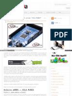 Www Arduteka Com 2011 11 Arduino Mi Primer Hola Mundo