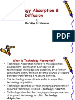 Technology Absorption and Diffusion