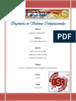Lista y Clasificación de los Lenguajes de Programación