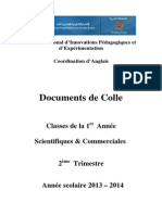 100- Frontpage for 1st Year Colle Documents