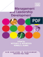 Self-Management and Leadership