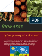 Présentation Biomasse