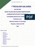 Atlas of Peculiar Galaxies 1966