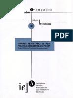 IEA Caderno Gramsci (Kritsch&Ricupero - Orgs)